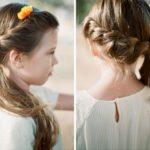 Eleganckie fryzurki dla dziewczynek na uroczystości szkolne